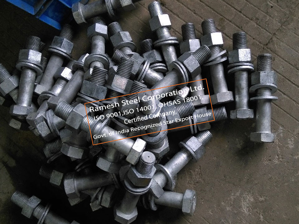 ASTM A194 Carbon Steel Fasteners Suppliers in UAE|A307 Bolt